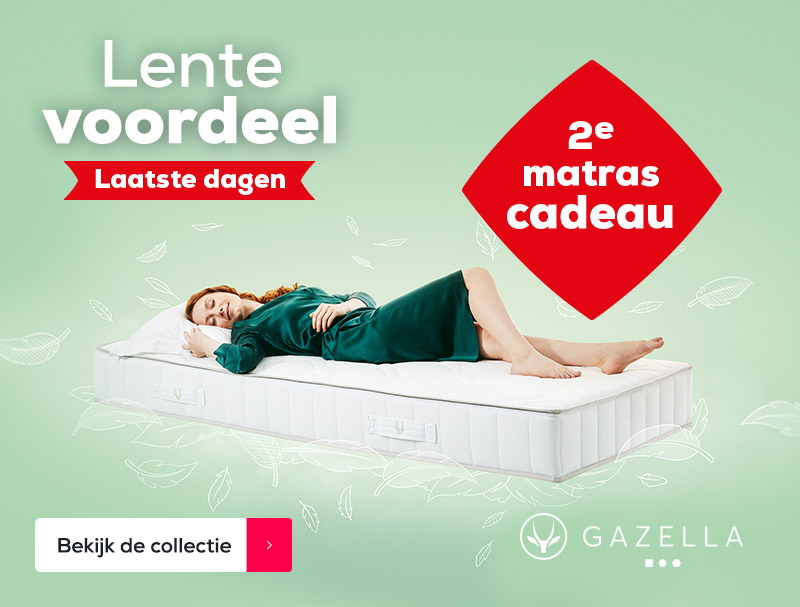 Actie Gazella Matrassen | Swiss Sense