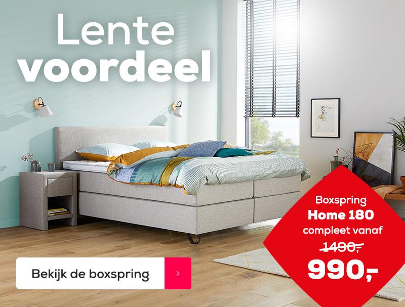 Compleet Bed 180x200.Boxspring 180x200 Kopen Swiss Sense Gratis Montage