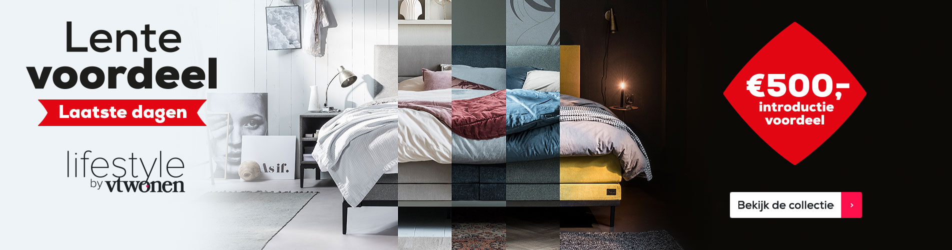Lifestyle by vtwonen collectie boxsprings | Swiss Sense