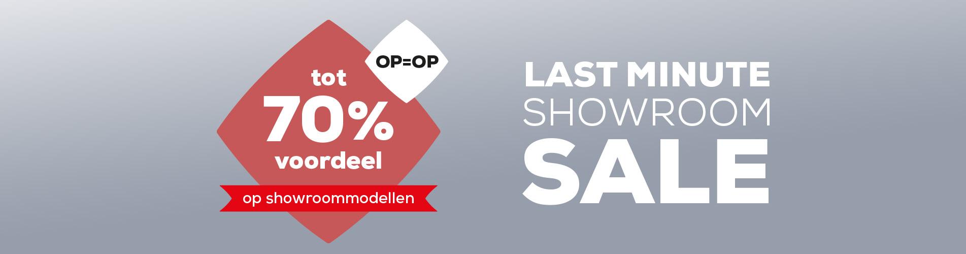 Acties Last Minute Showroom Sale | Swiss Sense