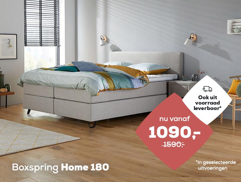 Boxspring Home 180 op voorraad| Swiss Sense