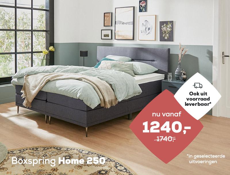 Boxspring Home 250 op voorraad | Swiss Sense