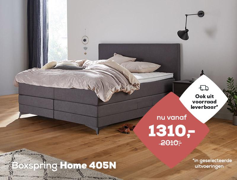 Boxspring Home 405N op voorraad| Swiss Sense