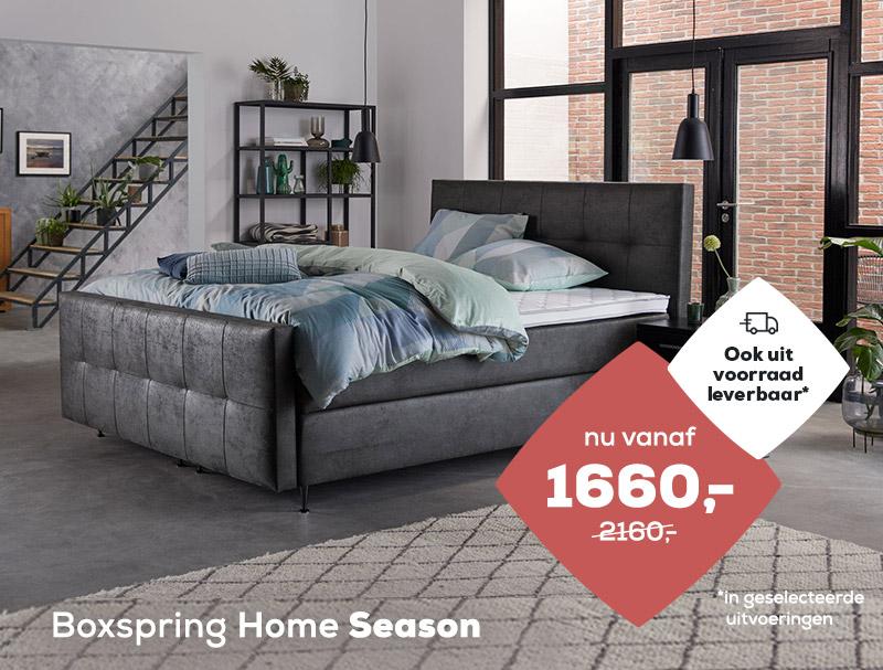 Boxspring Home Season op voorraad | Swiss Sense