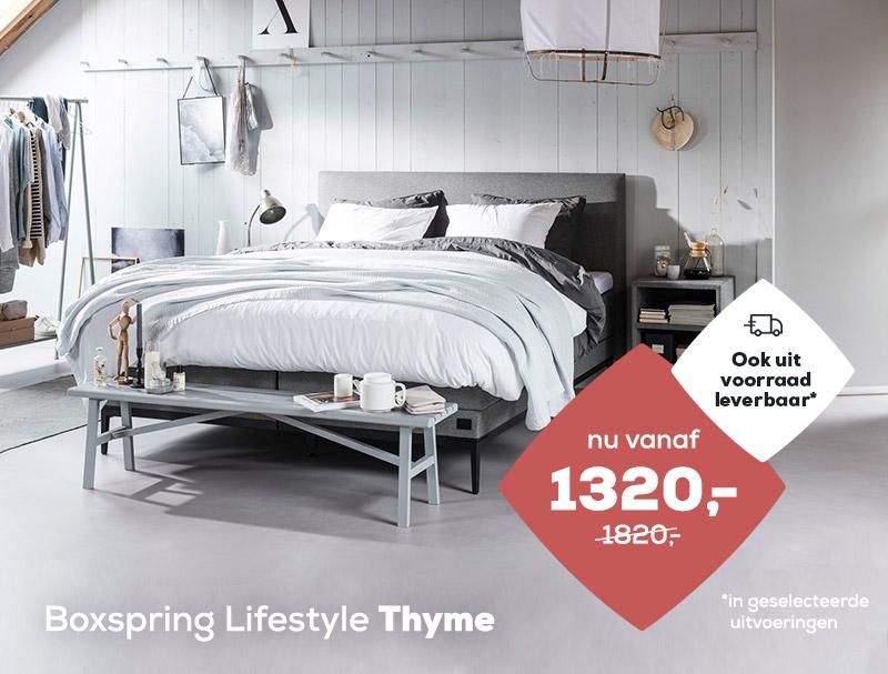 Boxspring Lifestyle by vtwonen Thyme | Swiss Sense