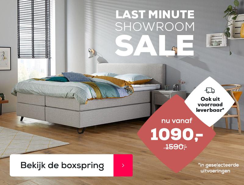 Boxspring Home 180 Voordeel | Swiss Sense