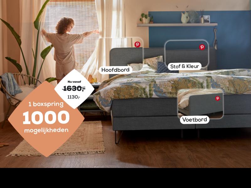 Stel jouw Home boxspring samen | Swiss Sense