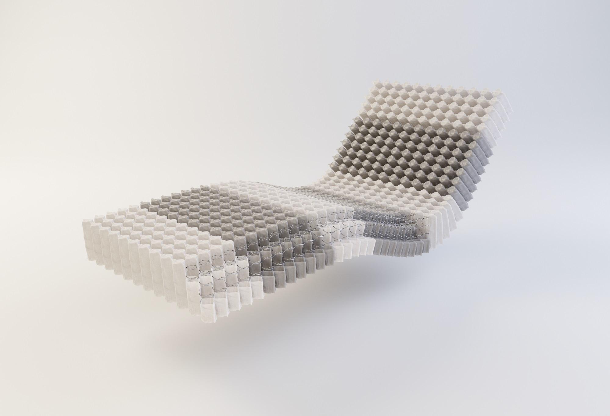 Gazella Breeze III micropocketvering matras kern | Swiss Sense