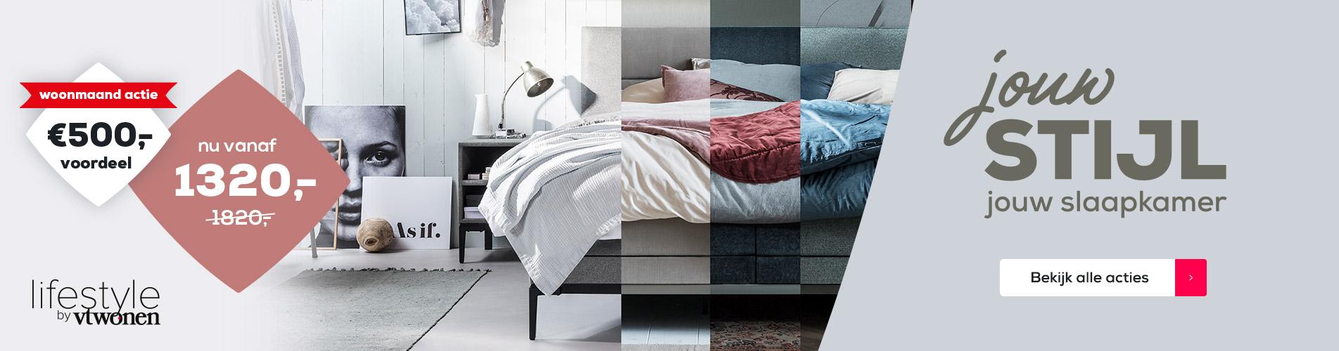 Acties Woonmaand / Jouw stijl jouw slaapkamer | Swiss Sense