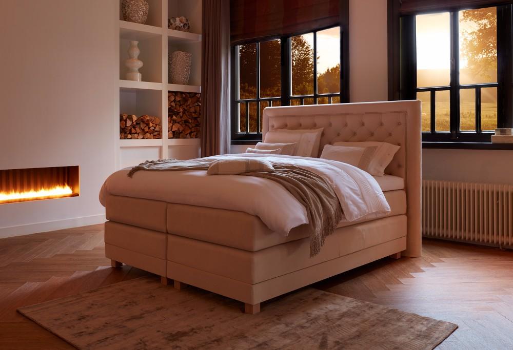 romantische slaapkamer bed