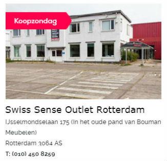 Swiss Sense Outlet Rotterdam