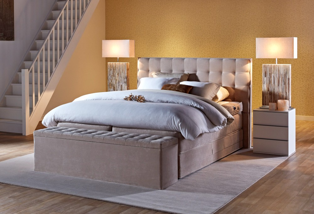 boxspring royal madison swiss sense. Black Bedroom Furniture Sets. Home Design Ideas