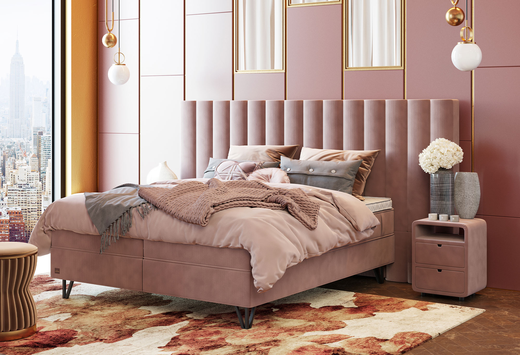 Boxspring Royal Metropolis | Swiss Sense