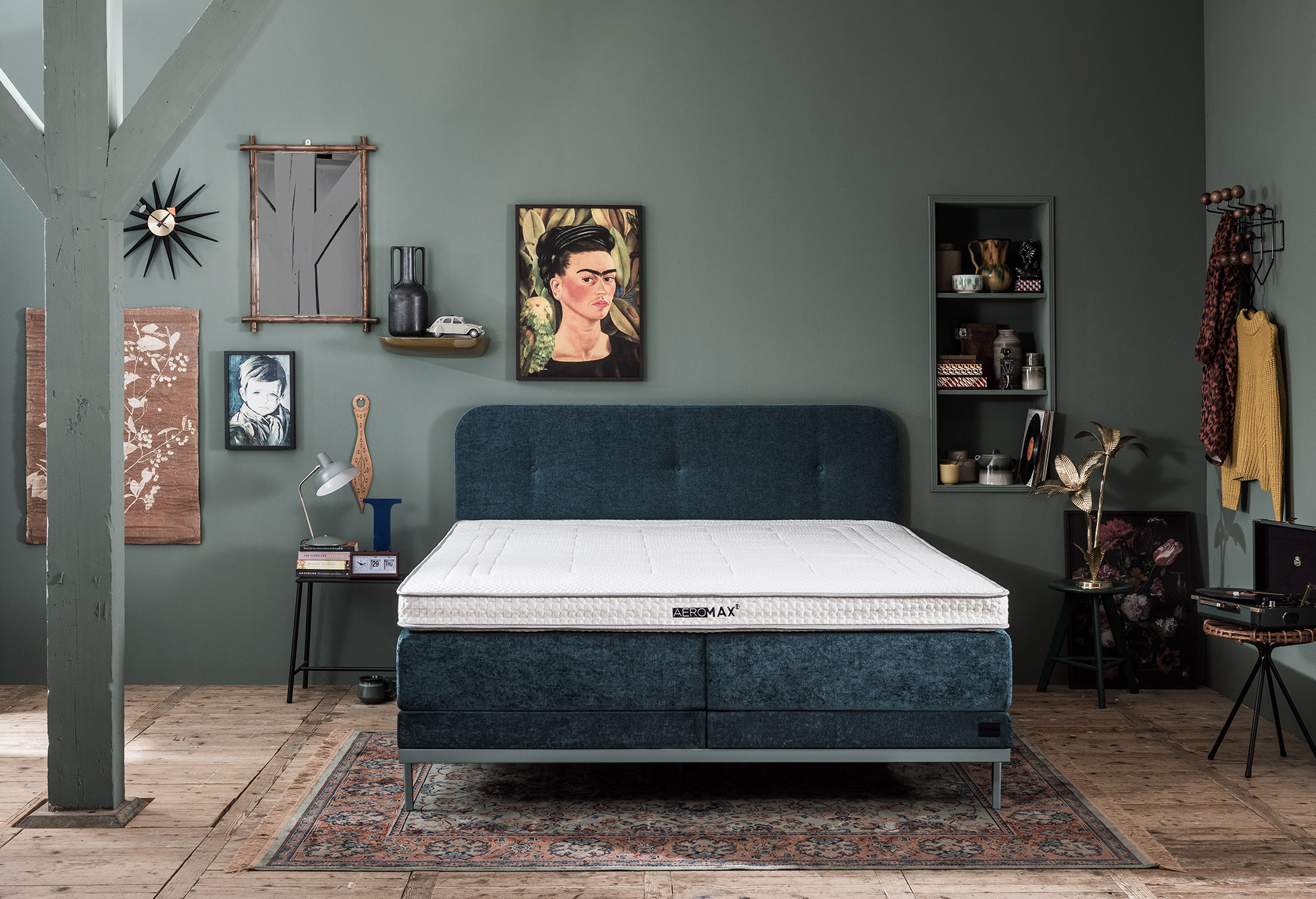 Boxspring Lifestyle by vtwonen Sage | Swiss Sense