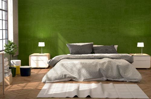 Slaapkamer kleuren   Groene slaapkamer - 1