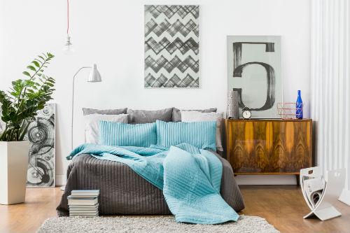 Slaapkamer kleuren   Sfeerbeeld - 1