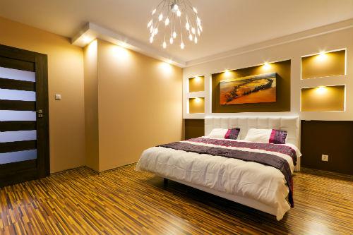 Slaapkamer kleuren   Sfeerbeeld