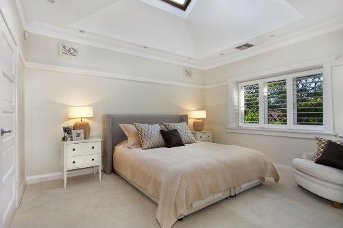Slaapkamer kleuren   Witte slaapkamer