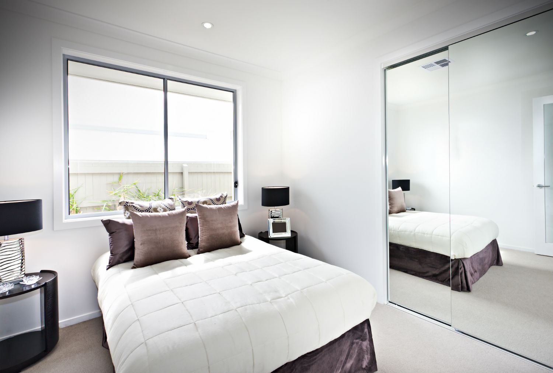 amazing kleine slaapkamer inrichten spiegels with