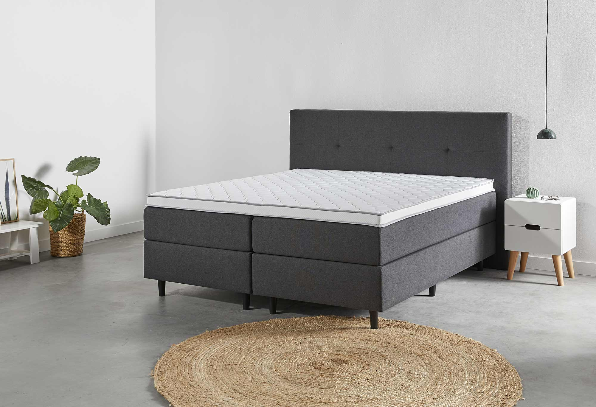 Boxspring Web-Only Spirit Deluxe Detail 01 | Swiss Sense