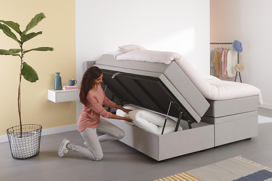 Een kleine slaapkamer inrichten | Swiss Sense