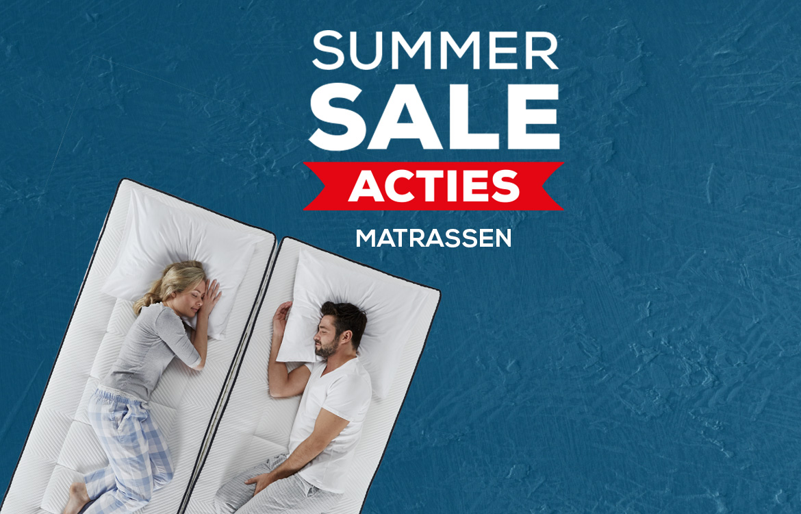 Matrassencollectie Summersale | Swiss Sense
