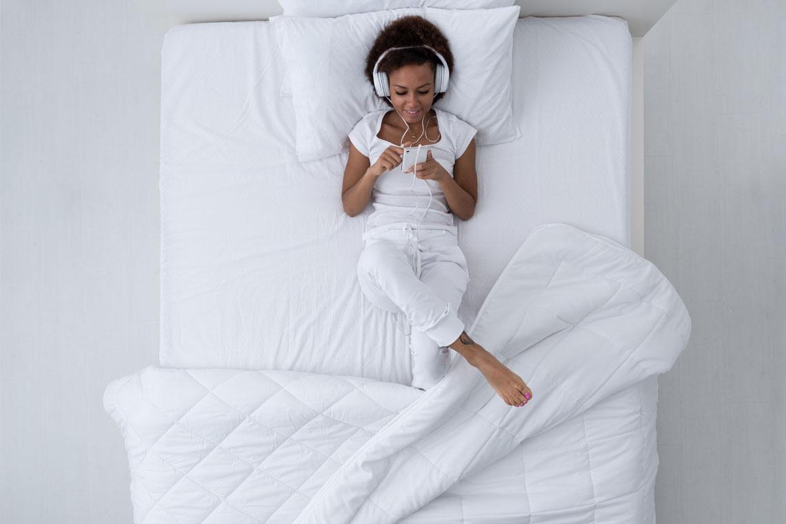 Deze slaapmuziek helpt je sneller in slaap vallen | Swiss Sense