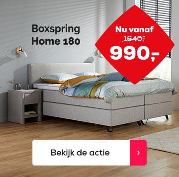 Actie Boxspring Home 180 | Swiss Sense