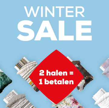 Winter Sale dekbedovertrekken 2 halen = 1 betalen | Swiss Sense