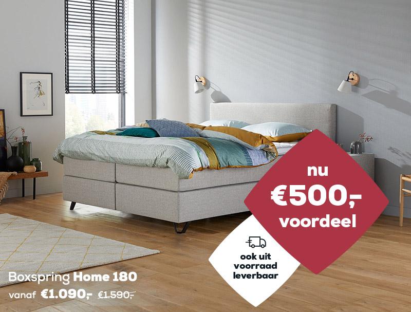 Winter Sale | Boxspring Home 180 | Swiss Sense