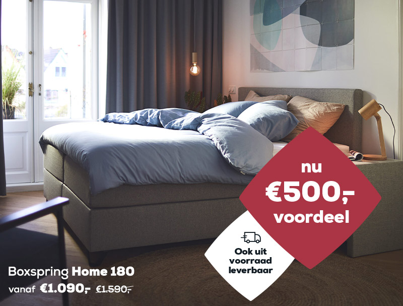 Winter Sale | Boxspring Home 180 | Swiss Sense