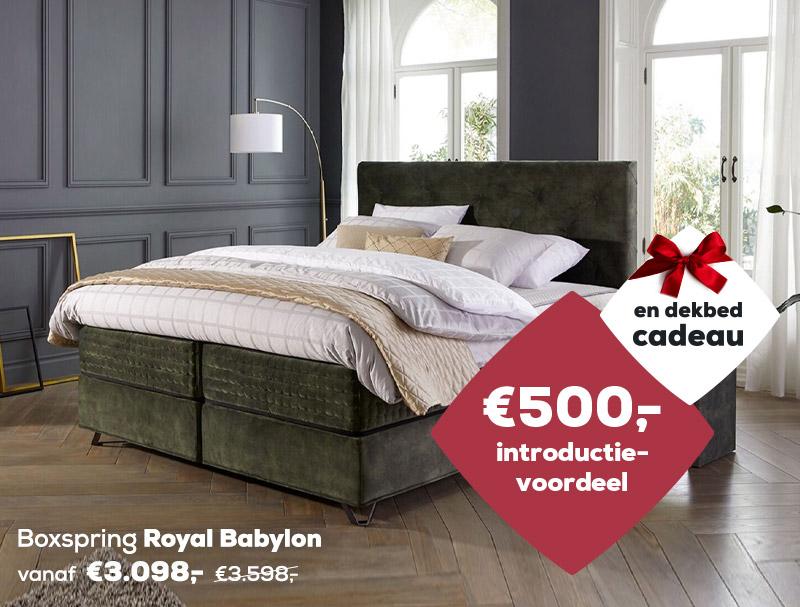 Winter Sale | Boxspring Royal Babylon | Swiss Sense