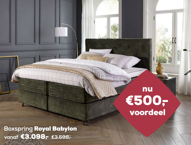 Winter Sale | Boxspring Royal Babylon | Swiss Sense