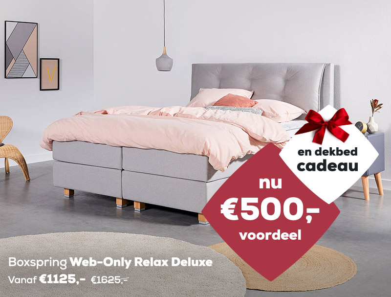 Winter Sale | Boxspring Web-Only Relax Deluxe | Swiss Sense