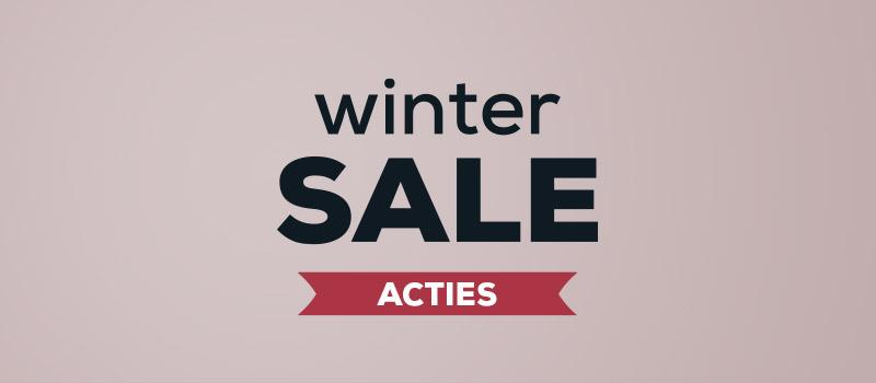 Acties - Winter Sale kortingen | Swiss Sense