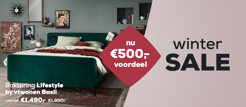 Boxspring collectie Lifestyle - Wintersale | Swiss Sense