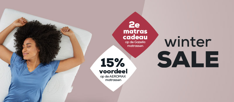 Matrassen - Wintersale | Swiss Sense