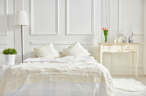 Slaapkamer Inrichten | Witte Slaapkamer