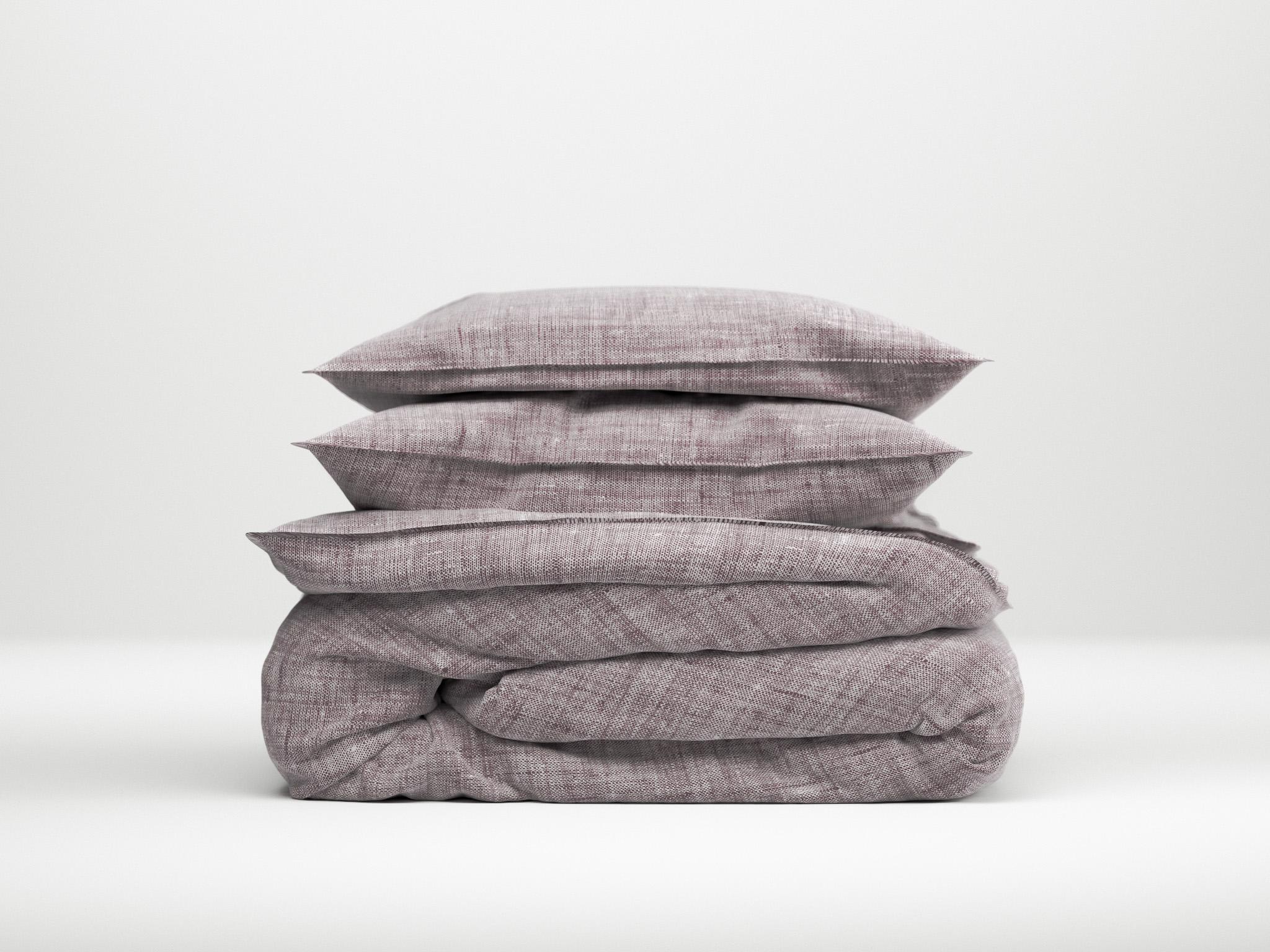 Zo!Home Lino Dekbedovertrek Purple | Swiss Sense