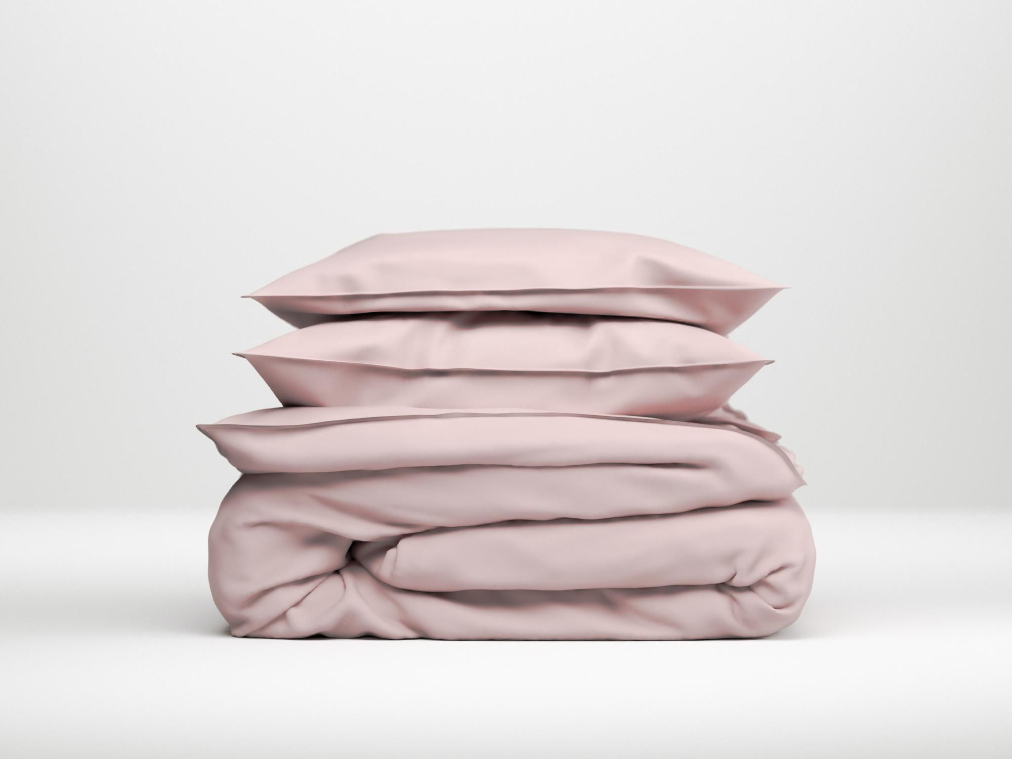Zo!Home Lino Dekbedovertrek Shady Pink| Swiss Sense