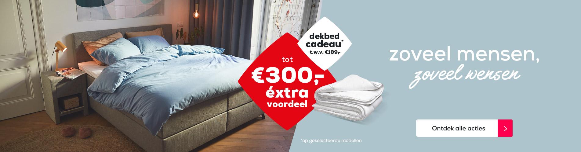 Zoveel mensen, zoveel wensen | Tot €300,- éxtra voordeel |  Swiss Sense