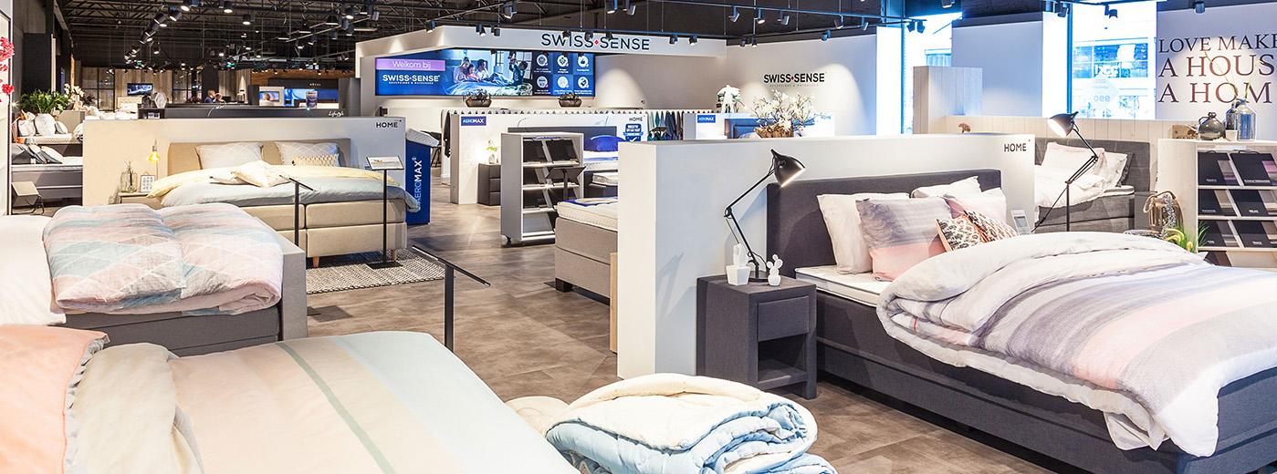 boxsprings matrassen in tilburg swiss sense. Black Bedroom Furniture Sets. Home Design Ideas