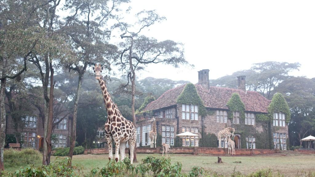 Bijzondere overnachting Kenia